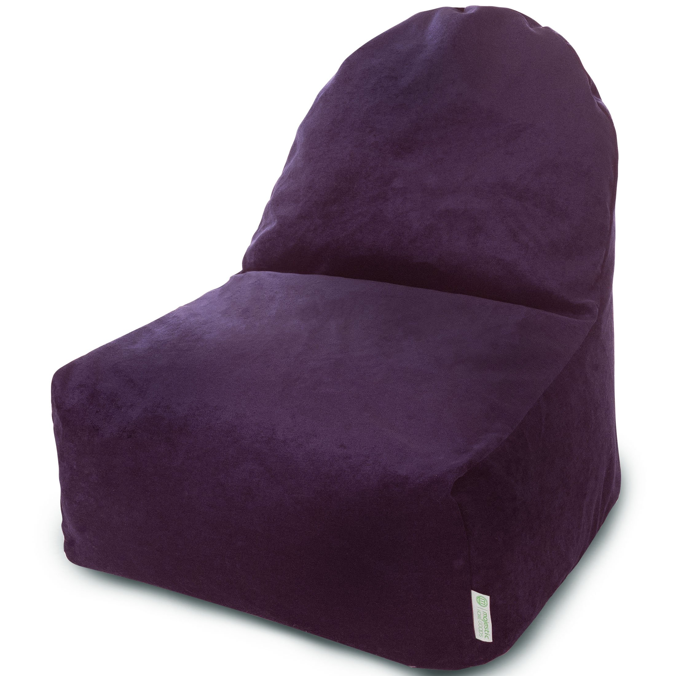 Majestic Home Goods Villa Aubergine Kick-It Chair