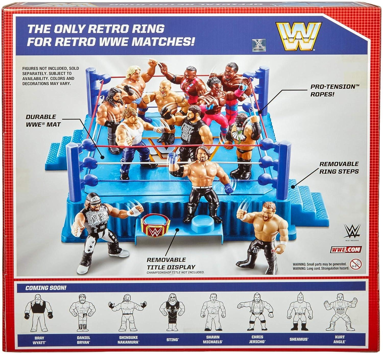 WWE Official Retro Ring Mattel FMJ11