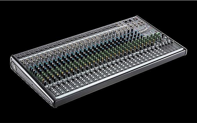 Mesa de mezclas profesional de 30 canales y cuatro buses: Amazon ...