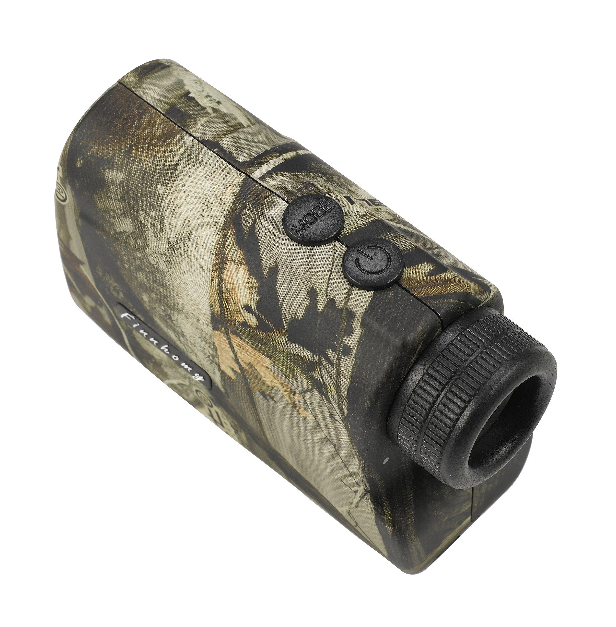Finnhomy 6 x 25mm Laser Binocular Rangefinder Distance Range Finder Speed Distance Measurement Scope 600 Yards Outdoor Activity Hunting Golf Racing Climbing Navigation Forestry Waterproof Free Battery by Finnhomy (Image #3)