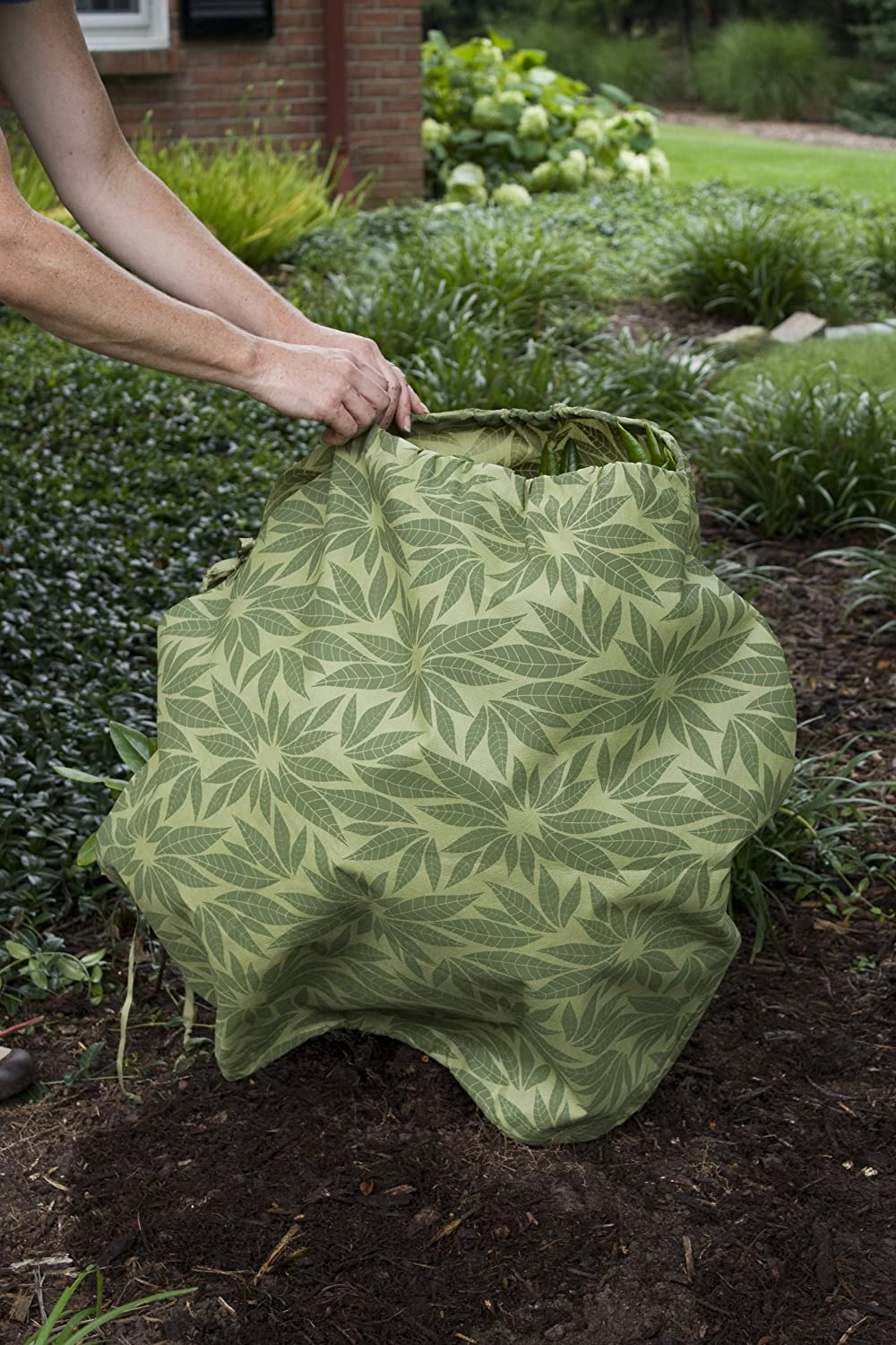 Shrub Jacket Season Extender – Frost Blanket for Winter Protection – Reusable Plant Cover for Small Plants Bushes – Protector Guard from Deer Rabbit – Small – by Plumstone