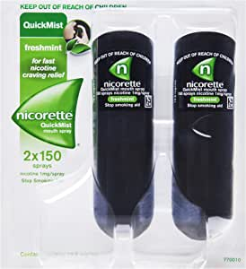 Nicorette Quick Mist Duo Spray 26.4mL 2x150 Sprays