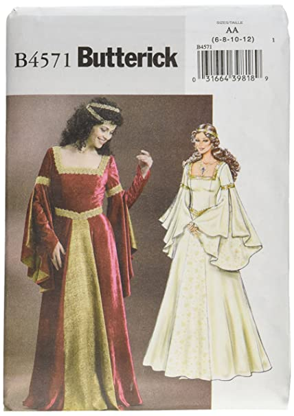 Amazon Butterick Patterns B40 Misses' Costume Size AA 4040 Adorable Butterick Patterns