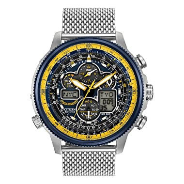 Citizen JY8031-56L Eco-Drive Blue Angels Navihawk A-T Men's Watch