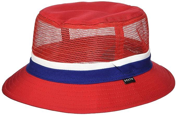 e54b95e5aea931 Brixton Mens Hardy Short Brim Mesh Bucket Hat Newsie Cap: Amazon.ca:  Clothing & Accessories