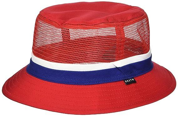 4c6d07d9169 Brixton Men s Hardy Short Brim Mesh Bucket Hat Newsie Cap  Amazon.co ...