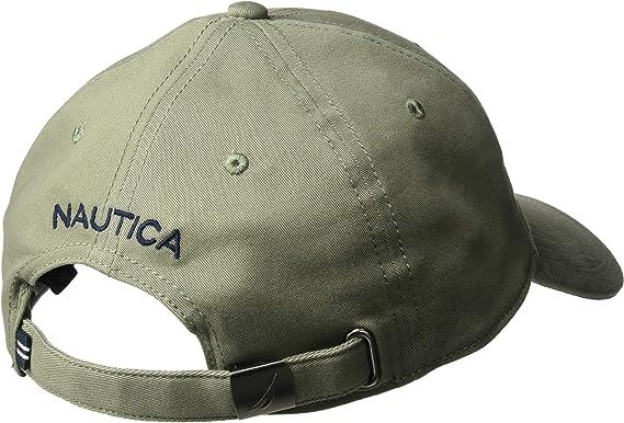Nautica Hombre - Gorra de béisbol Ajustable con Logotipo clásico ...
