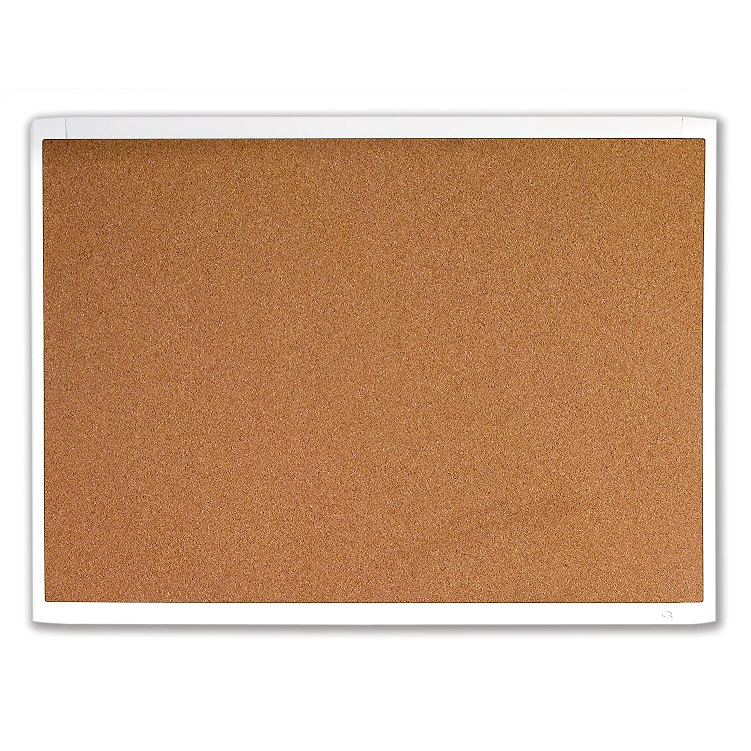 Cork Bulletin Board Amazoncom Quartet Magnetic Cork Bulletin Board White Plastic