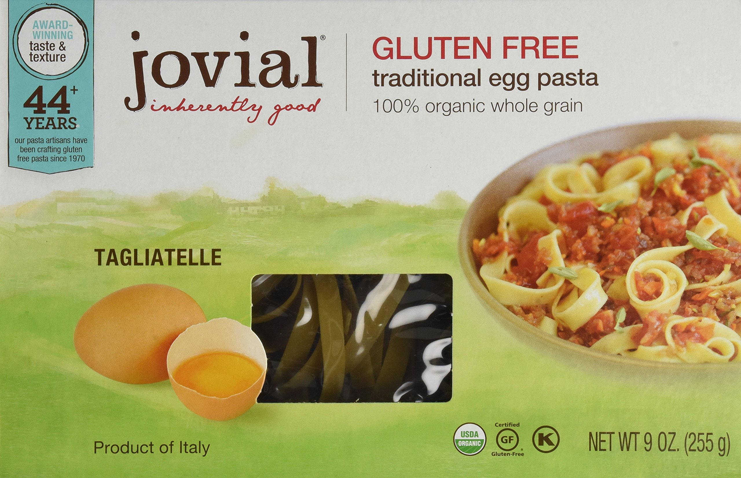 Jovial Pasta Brwnrce Tagliatelle 9oz (pack of 3) by Jovial