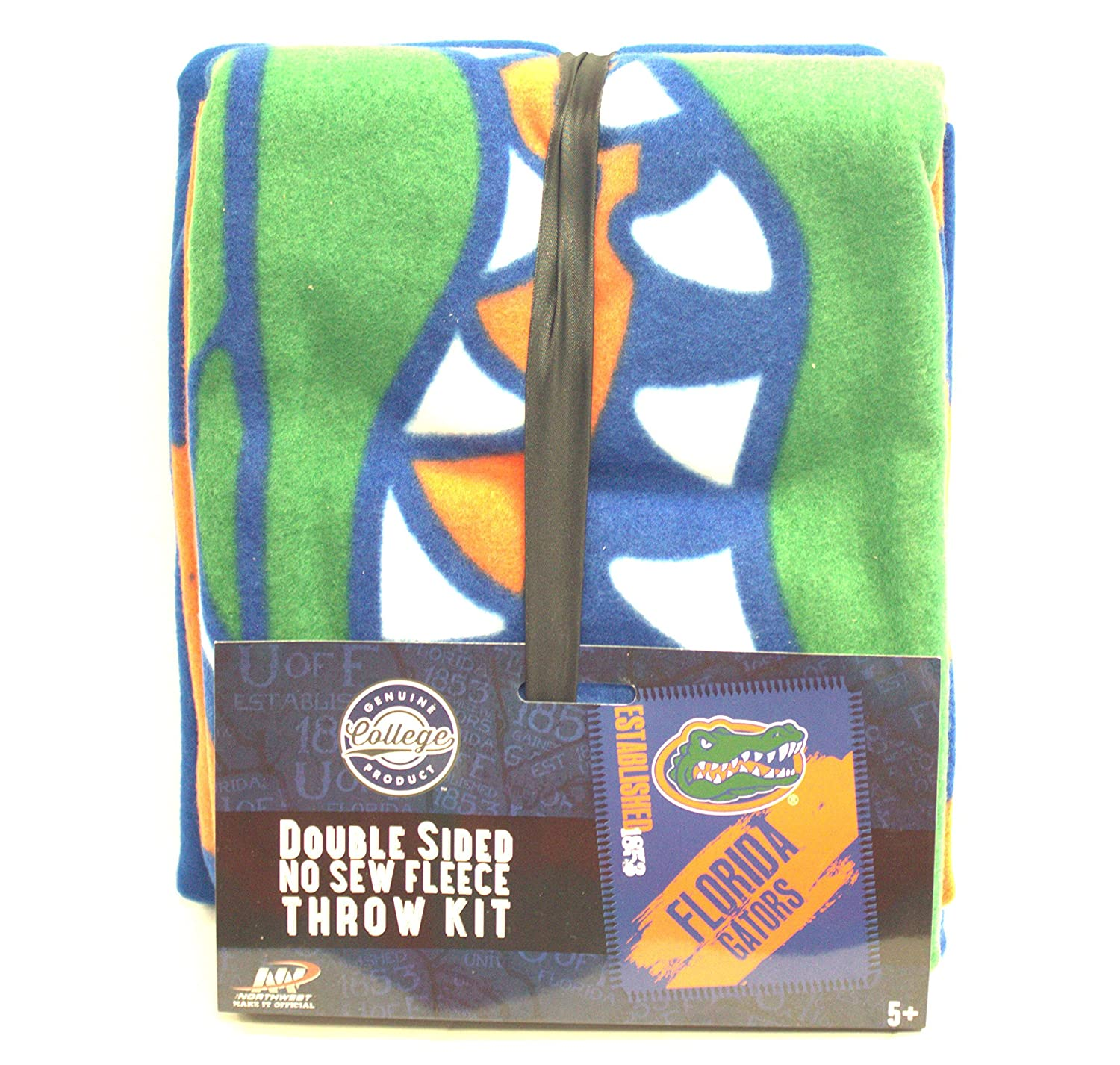 Amazon.com : Florida Gators Double Sided No Sew Fleece Blanket Kit : Sports & Outdoors