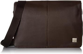 5f086072bc97 Knomo Luggage Men s Kinsale Laptop Messenger Bag Brown One Size
