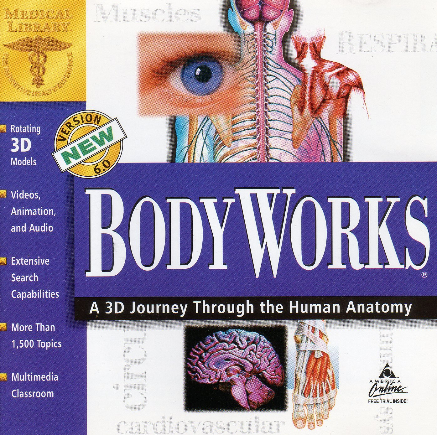 Amazon Body Works A 3d Journey Through The Human Anatomy