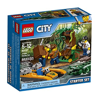 LEGO City Jungle Explorers Jungle Starter Set 60157 Building Kit (88 Piece): Toys & Games