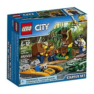 LEGO City Jungle Explorers Jungle Starter Set 60157 Building Kit (88 Piece)