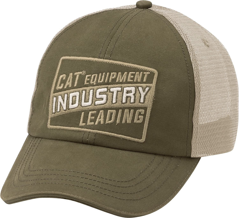 Caterpillar 1120019 - Gorra con visera y mensaje Cat Industry, de ...