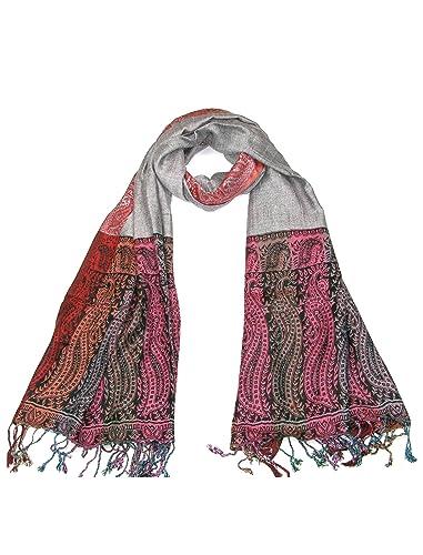 Lovarzi - Bufanda para mujer - día de san valentín / navidad regalo para ella - joyería bufandas
