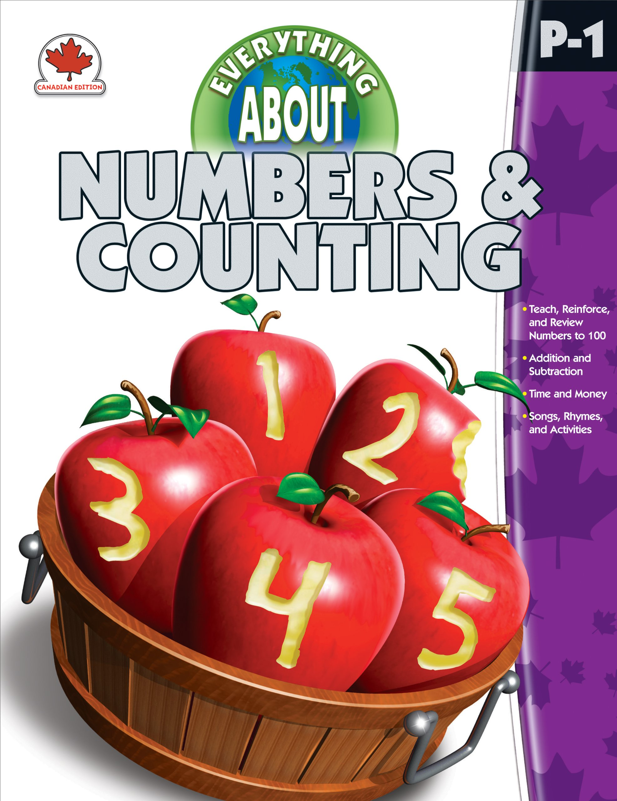 Everything About Numbers & Counting, Grades PK - 1: Canadian Edition pdf epub