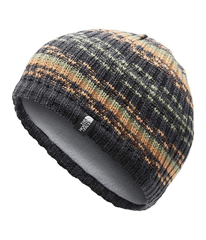 The North Face The Blues Beanie, TNF Dark Grey Heather/Cargo Khaki, OS best men's beanies