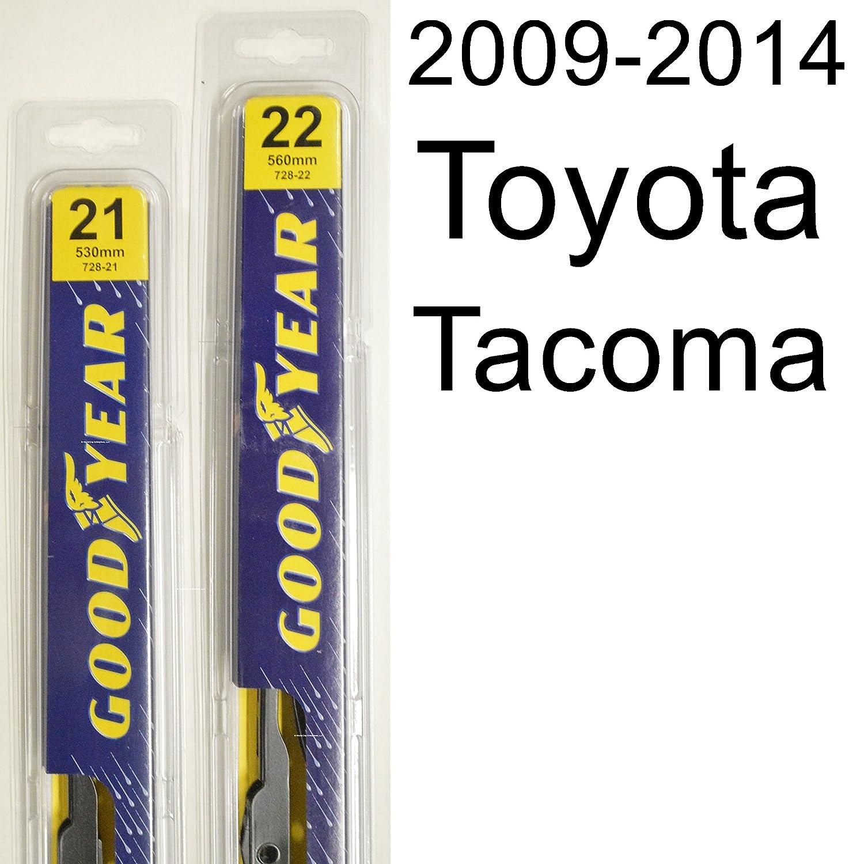 toyota ta a 2009 2014 wiper blade kit set