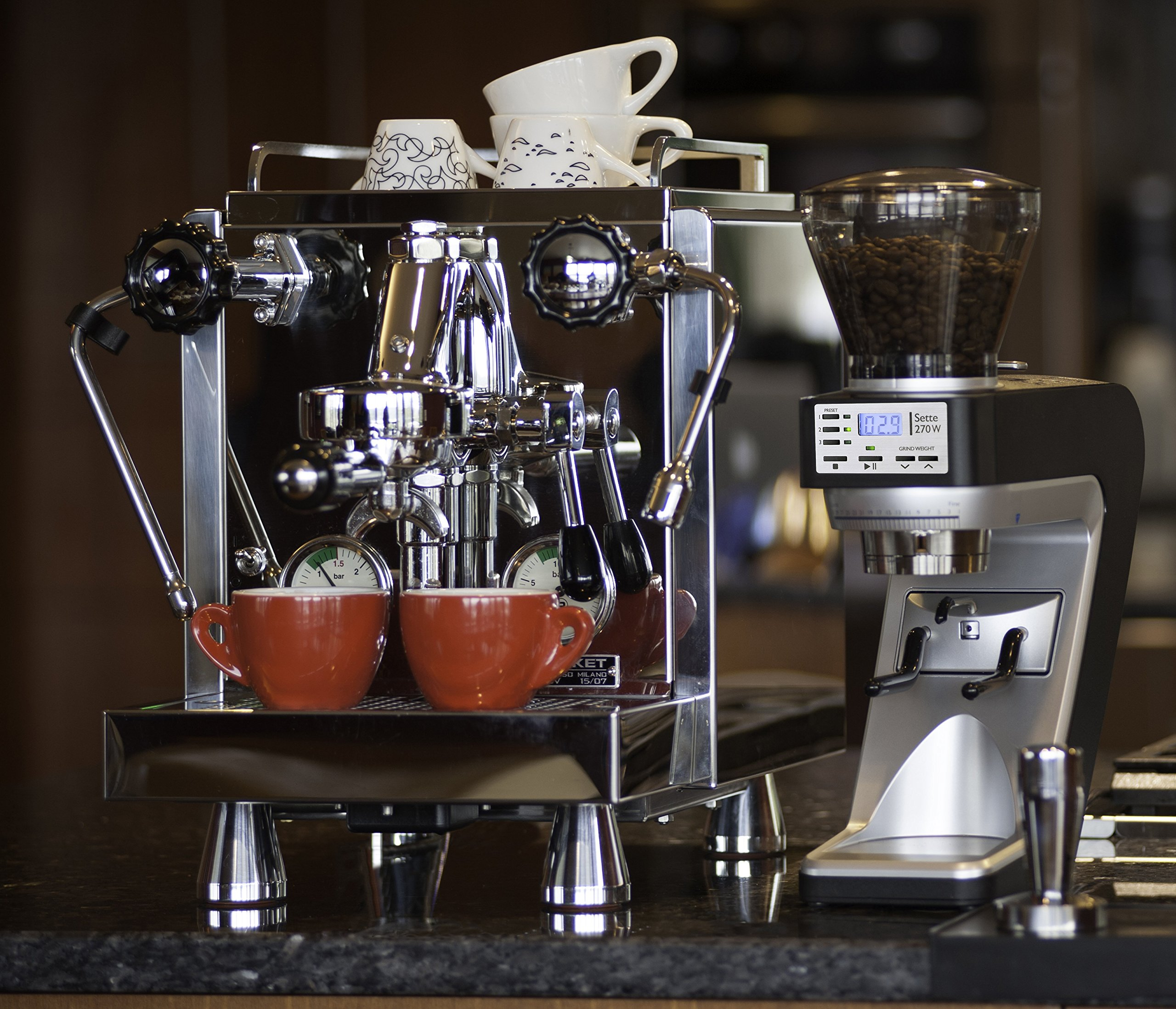 Baratza Sette 270W - Conical Burr (with Grounds Bin and built-in PortaHolder) by Baratza (Image #6)