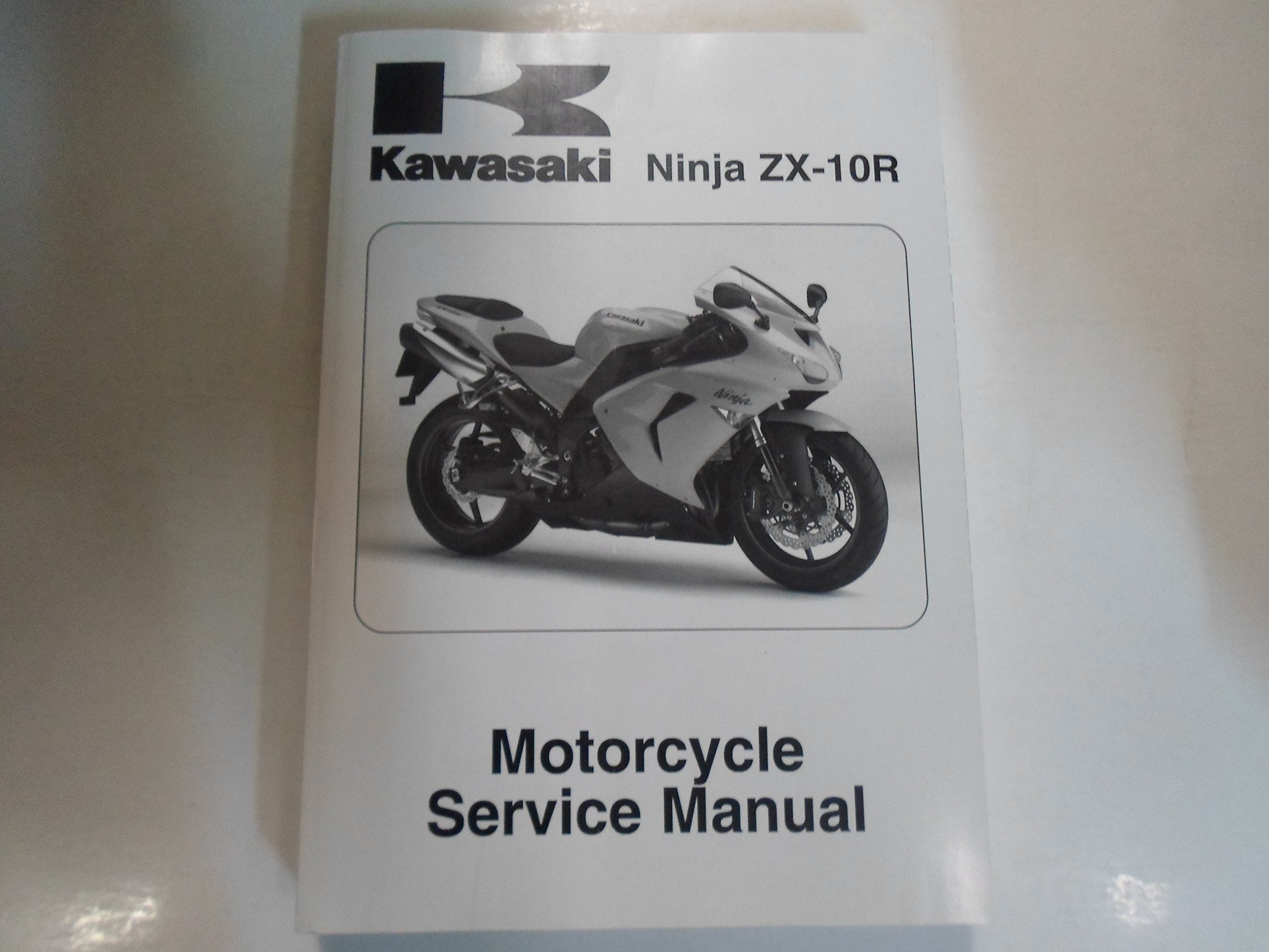 2006 2007 Kawasaki Ninja ZX-10R Motorcycle Service Repair ...