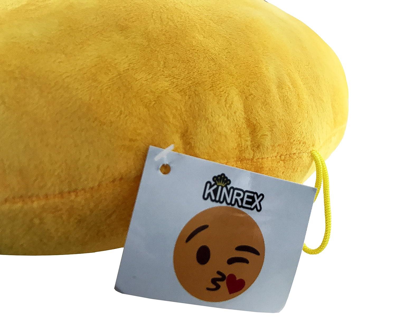 Amazon.com: kinrex Emoji almohada – Golpe Kiss Pillow ...