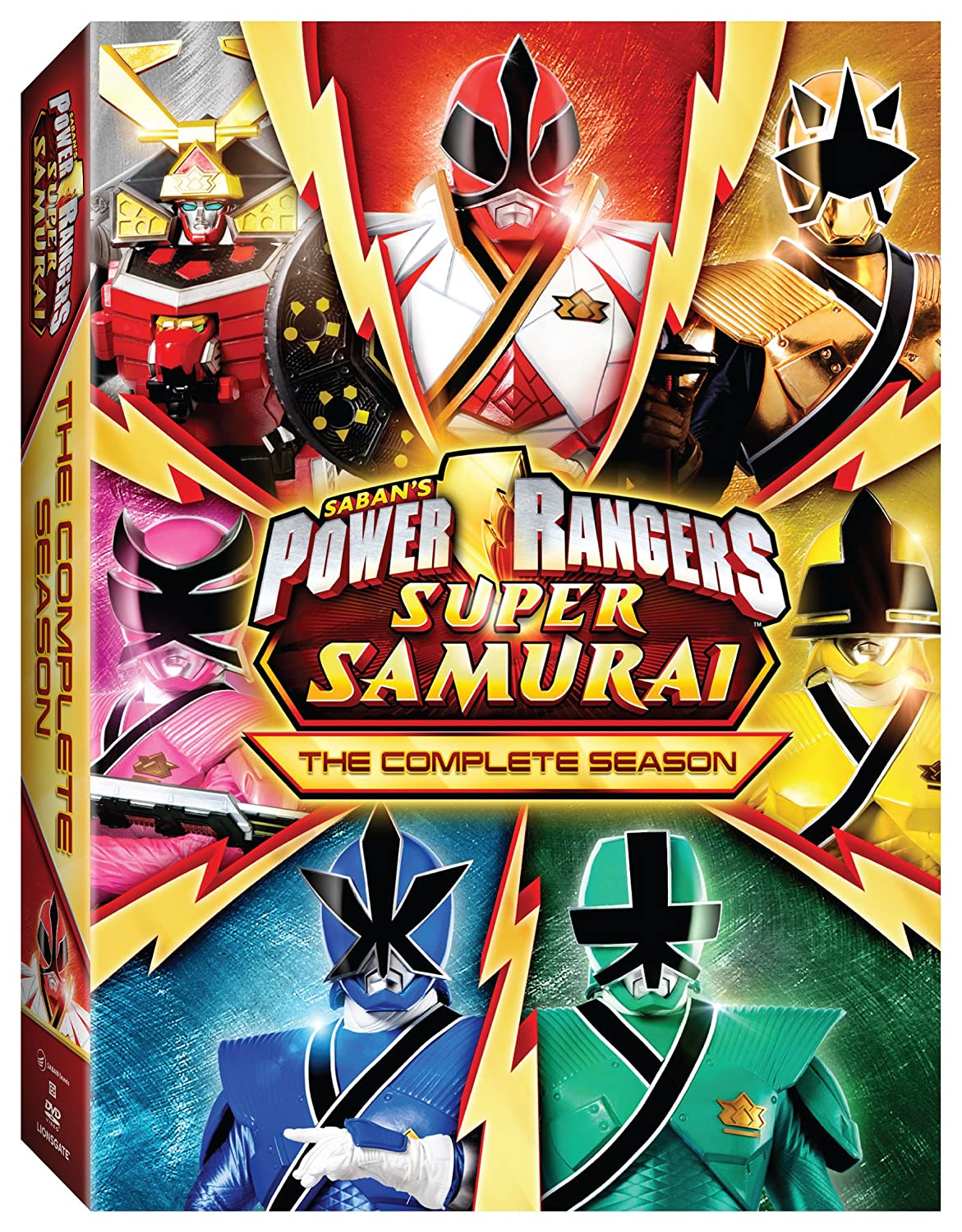 Amazon.com: Power Rangers Super Samurai: The Complete Season ...