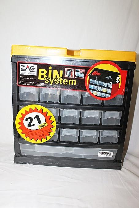 Exceptionnel Zag Bin System 21 Drawer Freestanding Storage Unit