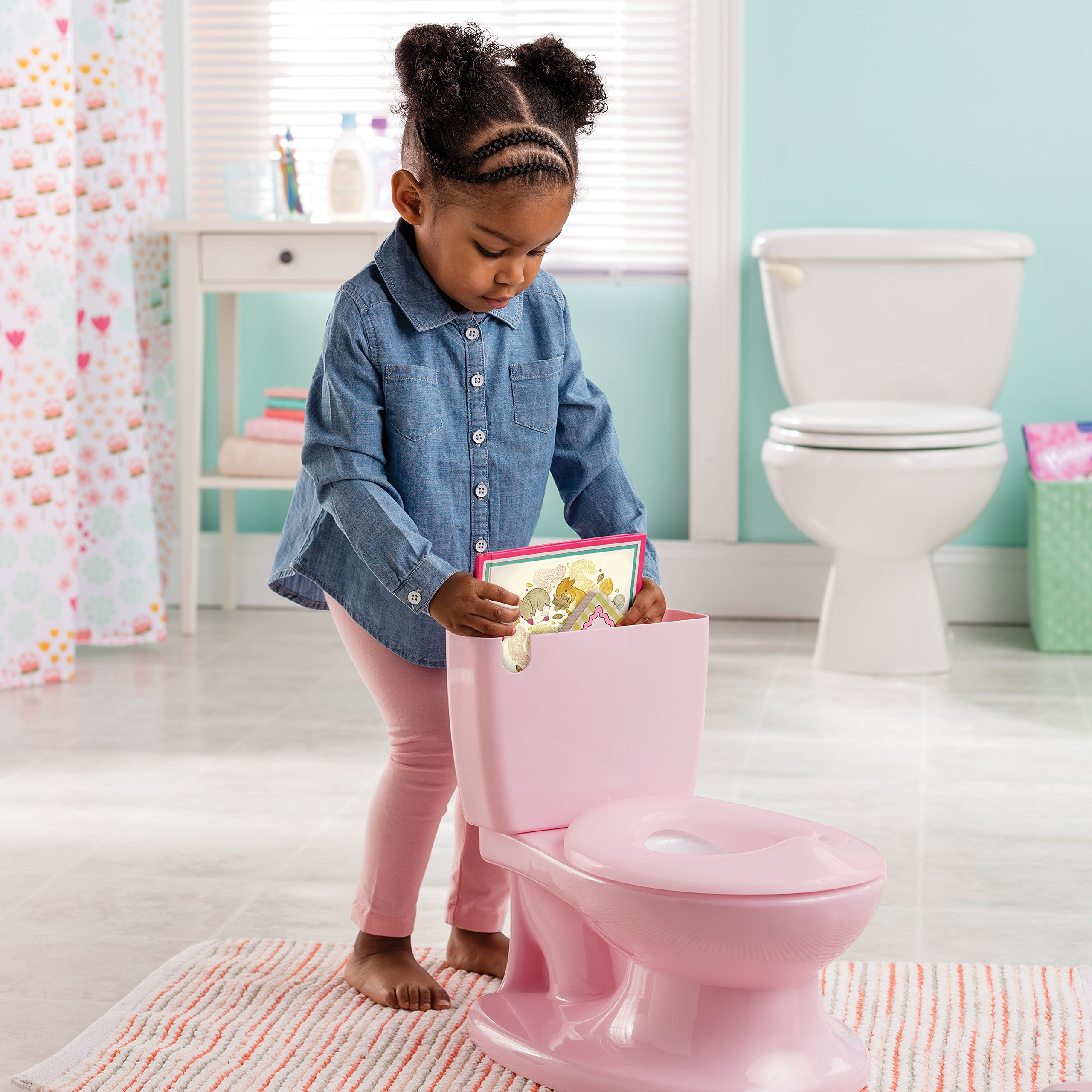 8bb775fcfc0 Summer Infant My Size Potty (Pink) - Training Toilet for Toddler ...