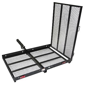 400lb capacidad silla de ruedas y de patinete plegable Cargo ...