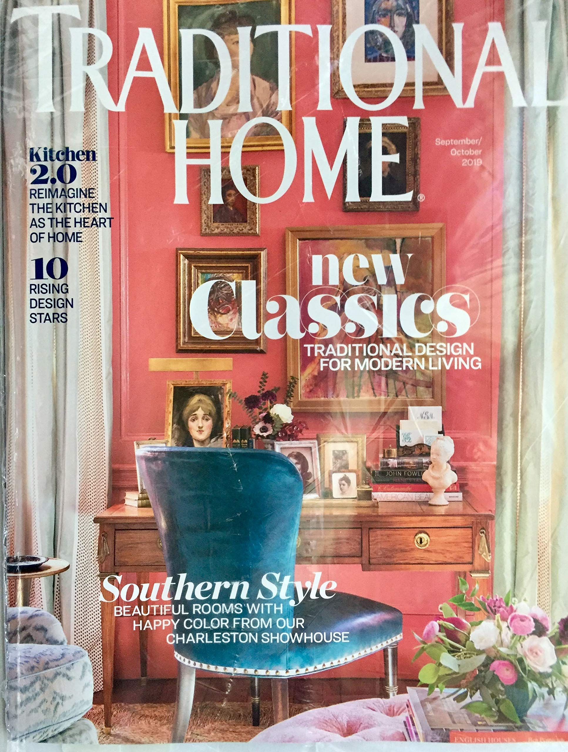 Traditional Home Magazine September October 2019 New Classics Traditional Design For Modern Living Amazon Com Books