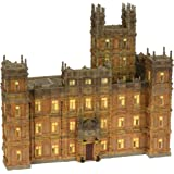 Department 56 Downton Abbey Lit House, 11.42-Inch