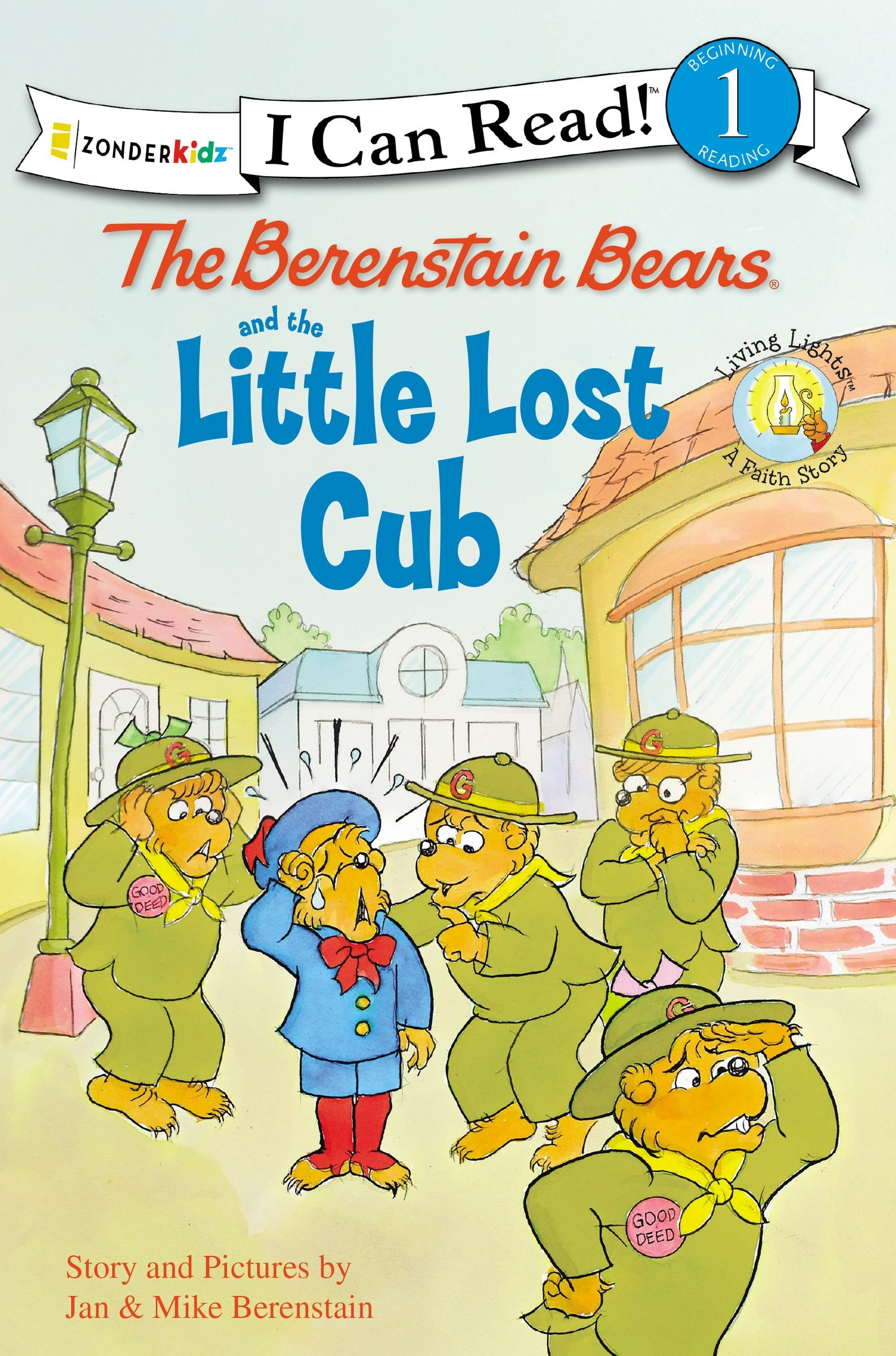 The Berenstain Bears and the Little Lost Cub (I Can Read! / Good Deed Scouts / Living Lights) PDF