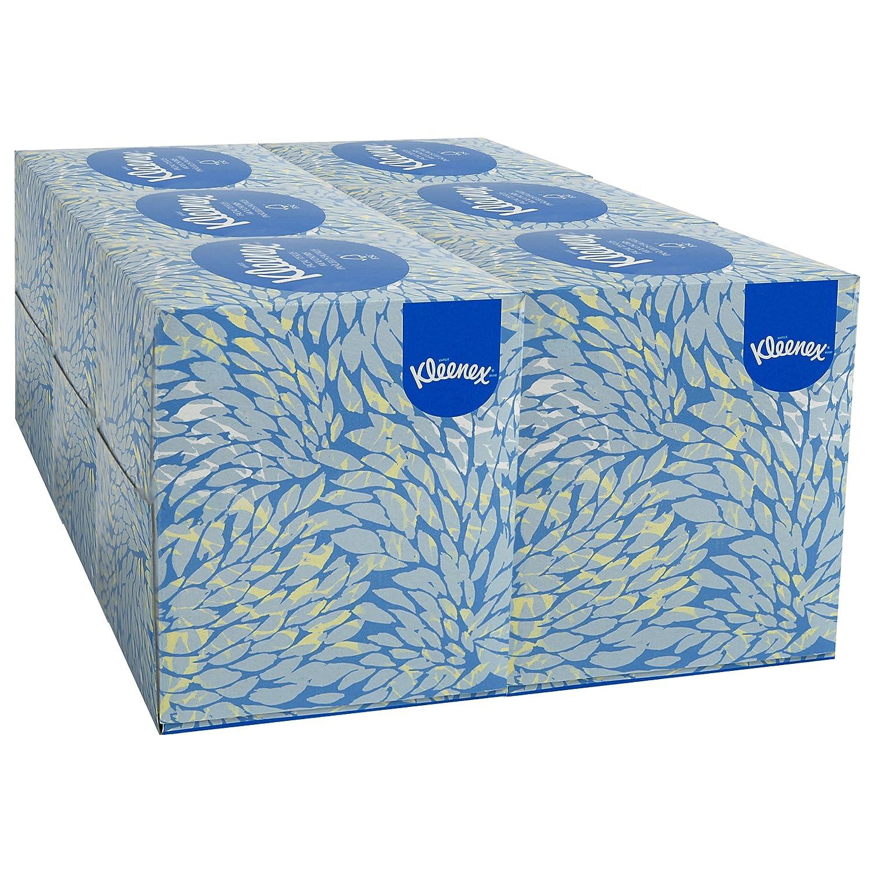 Kleenex Professional Facial Tissue Cube for Business 21271 Upright Face Tissue Box 6 Bundles Case 6 Boxes Bundle 36 Boxes Case