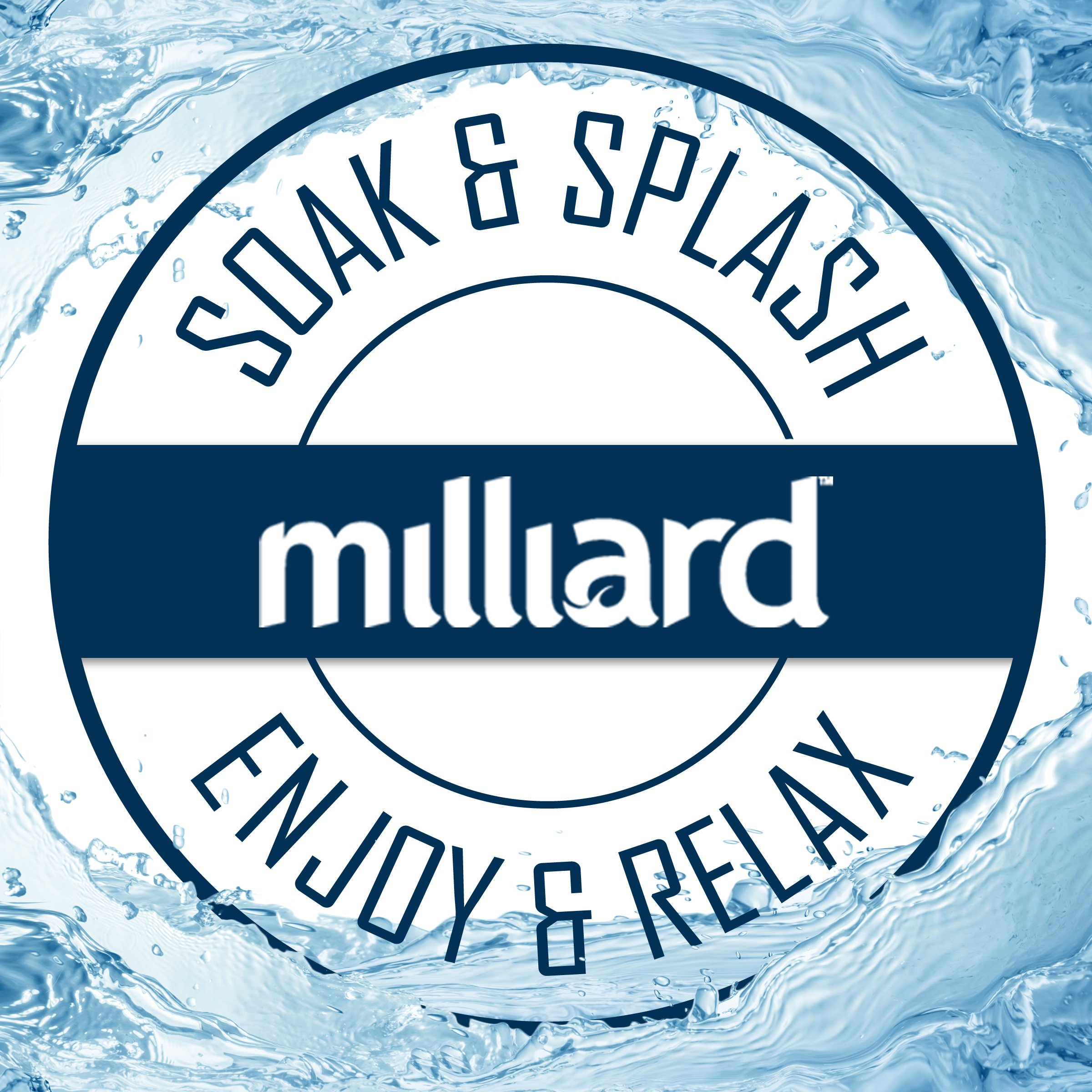 MILLIARD Floating Pool Thermometer Polar Bear, Large Size with ...