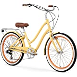 sixthreezero EVRYjourney Steel Women's Hybrid Bike with Rear Rack
