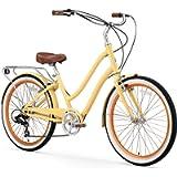 sixthreezero EVRYjourney Steel Women's Hybrid Bike with Rear Rack