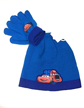 ede7cf03e484 Cars Ensemble bonnet acrylique et Gant Disney  Amazon.fr  Vêtements ...