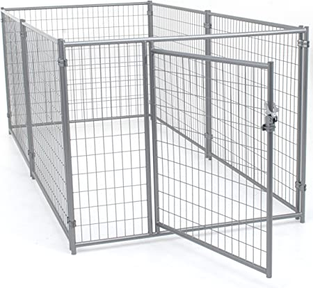 Amazon Com Lucky Dog Modular Welded Wire Kennel 6 X 5 X10 Pet Supplies