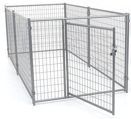 Amazon.com : Lucky Dog Modular Welded Wire Kennel - 6\' x 5\' x10 ...
