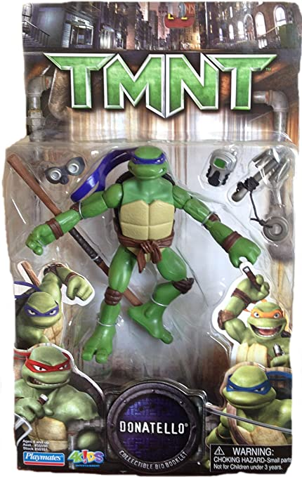 Amazon.com: Teenage Mutant Ninja Turtles Movie figura ...