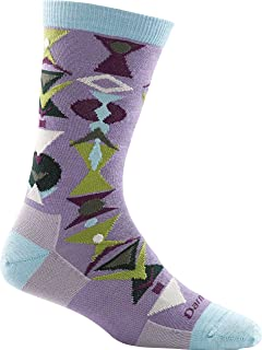 product image for Darn Tough Cosmo Crew Light Sock - Women's Lilac Small