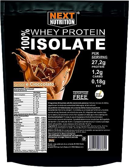 Proteína Whey de Suero de Leche 100% aislado VB 104 KG 1 Sabor a cacao Asimilación Inmediata | Solo 0.18gr de Grasas y 1.2gr de Carbohidratos ...
