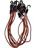 Kotap Adjustable 48-Inch Bungee Cords, 10-Piece, Item: MABC-48