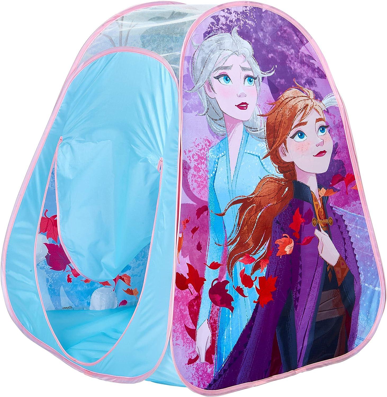 Disney- Casita de Tela desplegable, Color Azul (Moose Toys 169FZO)