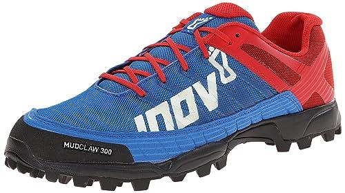 inov-8 Mudclaw 300 - Zapatillas trail running - rojo/azul Talla 40,5 2015: Amazon.es: Zapatos y complementos