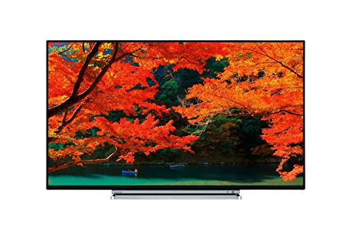Toshiba 43U5766DB 43-Inch 4K Ultra HD Smart LED TV with Freeview Play - Black TV with a chrome surround (2017 Model)