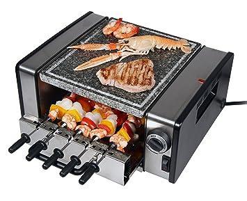 rgv grillo light barbecue elettrico da tavola con pietra ollare ... - Cucinare Con La Pietra Ollare