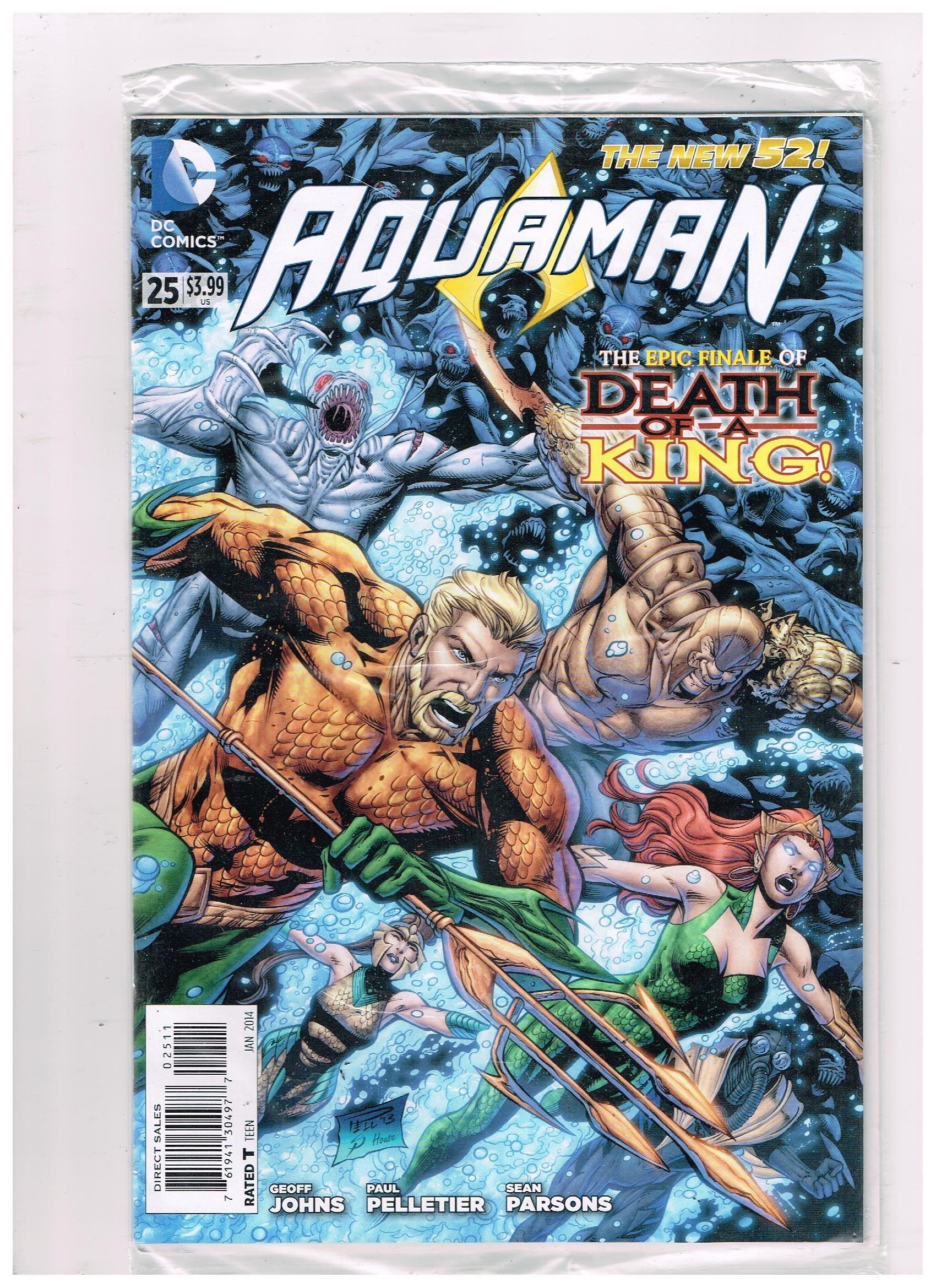 AQUAMAN # 25 DC Comic (Jan 2014) The New 52 PDF