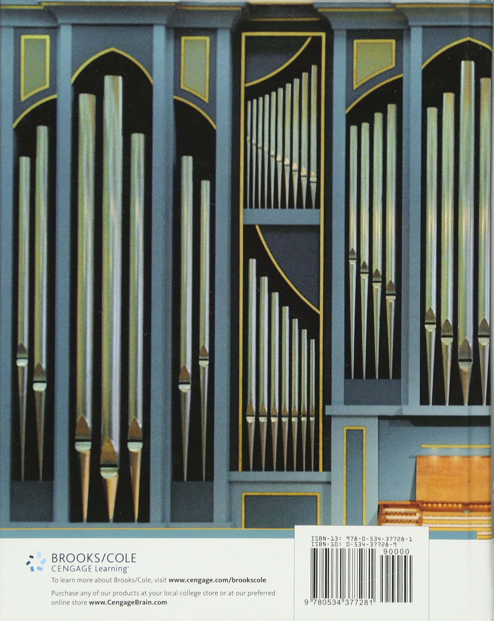 Musical Acoustics, 3rd Edition by Brooks/Cole